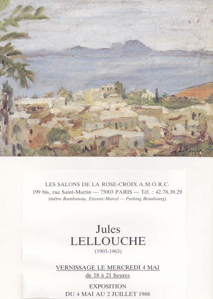 Exhibitions jules lellouche painter 1903 1963 for Salon rose croix